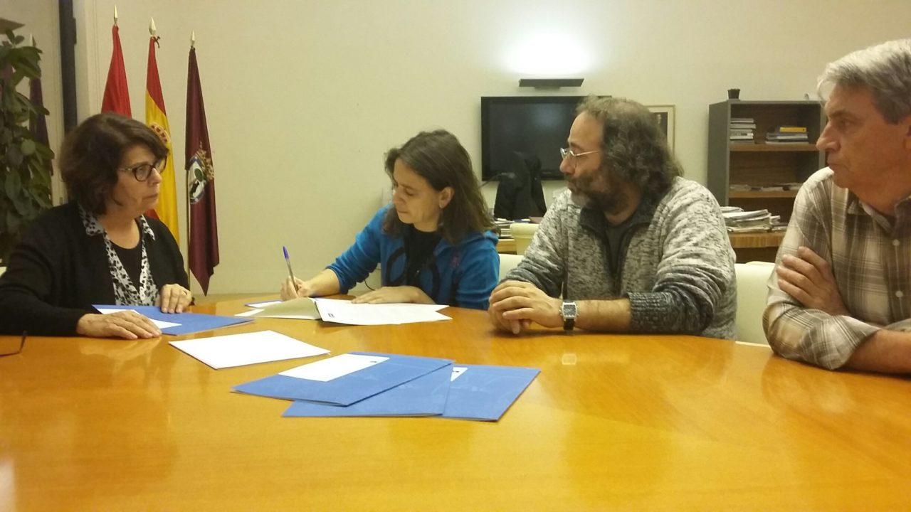 Reunión entre la FRAVM y la Concejala de Medio Ambiente del Ayuntamiento de Madrid