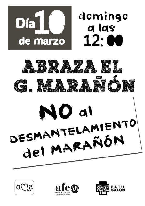 #10M: ¡abraza el Gregorio Marañón!