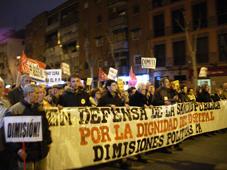 11.000 personas piden en Leganés la dimisión de Lamela