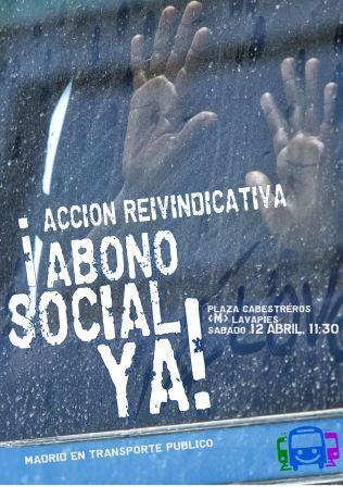 12A: acción reivindicativa para exigir un abono social de transporte