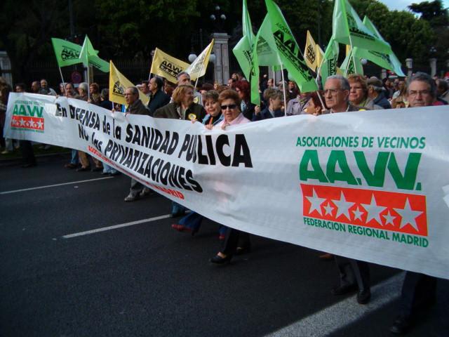 13 de mayo: jornada de movilizaciones contra el deterioro de la sanidad pública madrileña