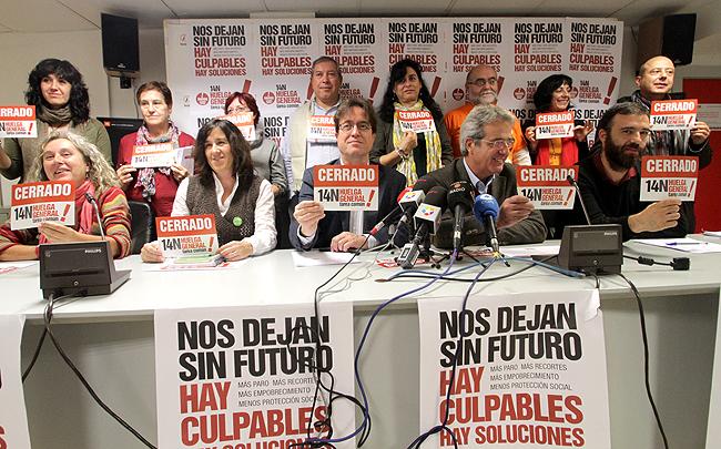 14N: sumar a la huelga laboral una huelga social