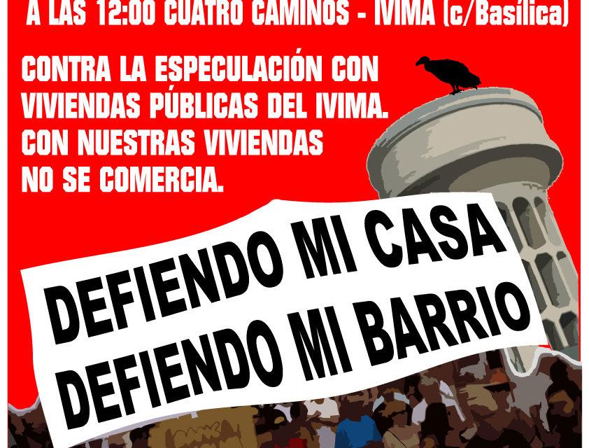 15F: manifestación contra la especulación con las viviendas públicas