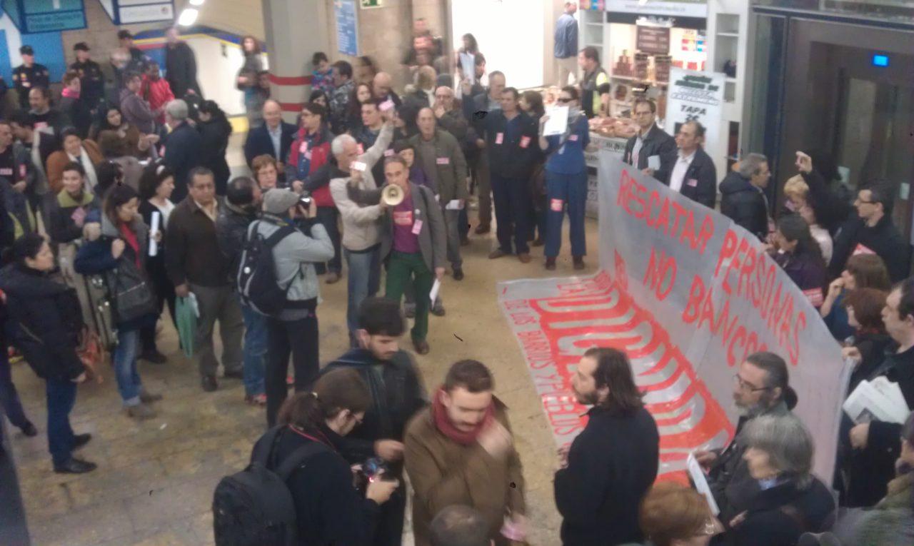 #15M: transporte público gratuito para las personas desempleadas… ¡por dignidad!