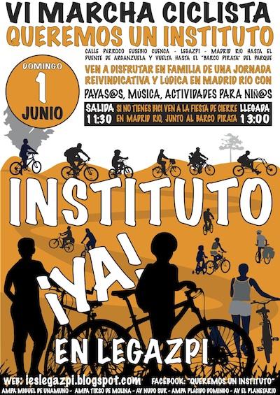 1J: Arganzuela volverá a exigir la construcción de un instituto