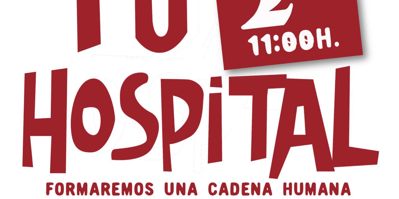 """2 de diciembre: la ciudadanía madrileña """"abrazará"""" sus hospitales"""