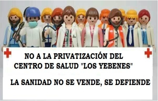 20N: Aluche sale a la calle contra la posible privatización de Los Yébenes