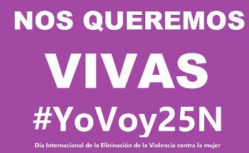 25 de noviembre: salgamos a la calle contra la violencia hacia las mujeres