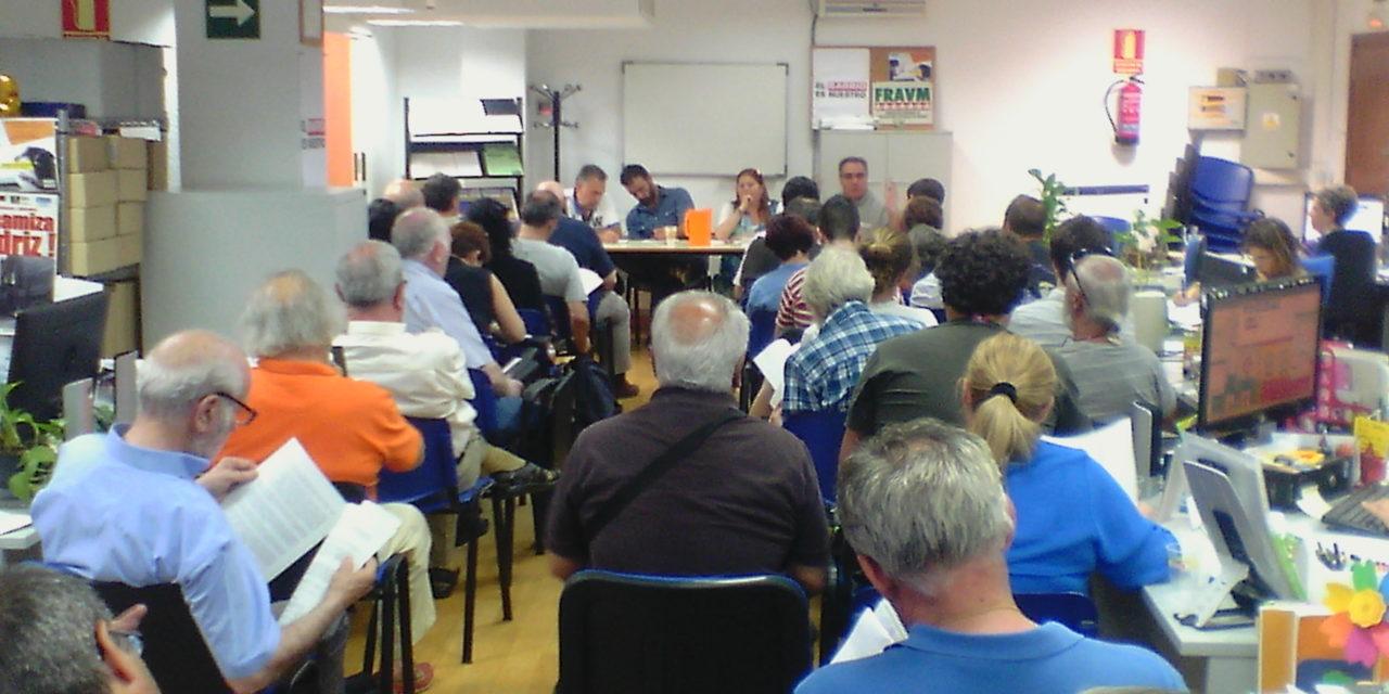 25J: las asociaciones vecinales se reunieron en asamblea