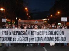 2.000 personas exigen que no se especule con los terrenos de la cárcel de Carabanchel