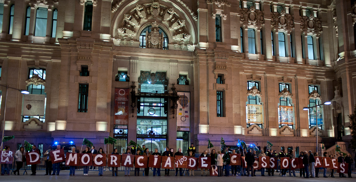 30 octubre: el movimiento vecinal se moviliza en 9 comunidades autónomas contra la reforma local