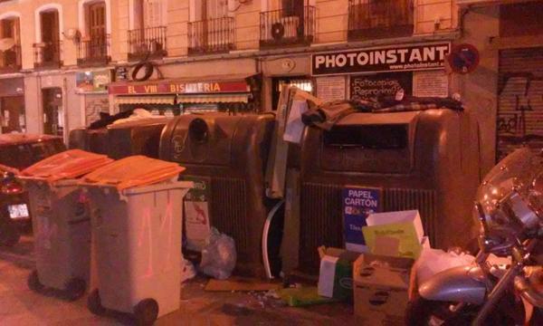 30S: Madrid saldrá a la calle para exigir más limpieza