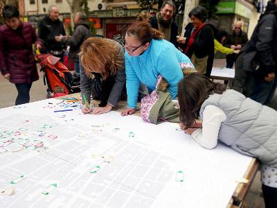 400 propuestas vecinales para transformar el Puente de Vallecas