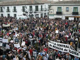 6.000 voces claman contra la térmica de Morata de Tajuña