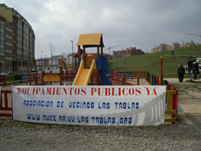 """A Aguirre """"le importa poco la salud del vecindario de Las Tablas (Fuencarral)"""""""