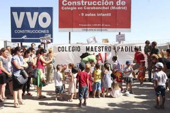 AMPAs y asociaciones vecinales se manifestarán el domingo para exigir la finalización de seis colegios públicos