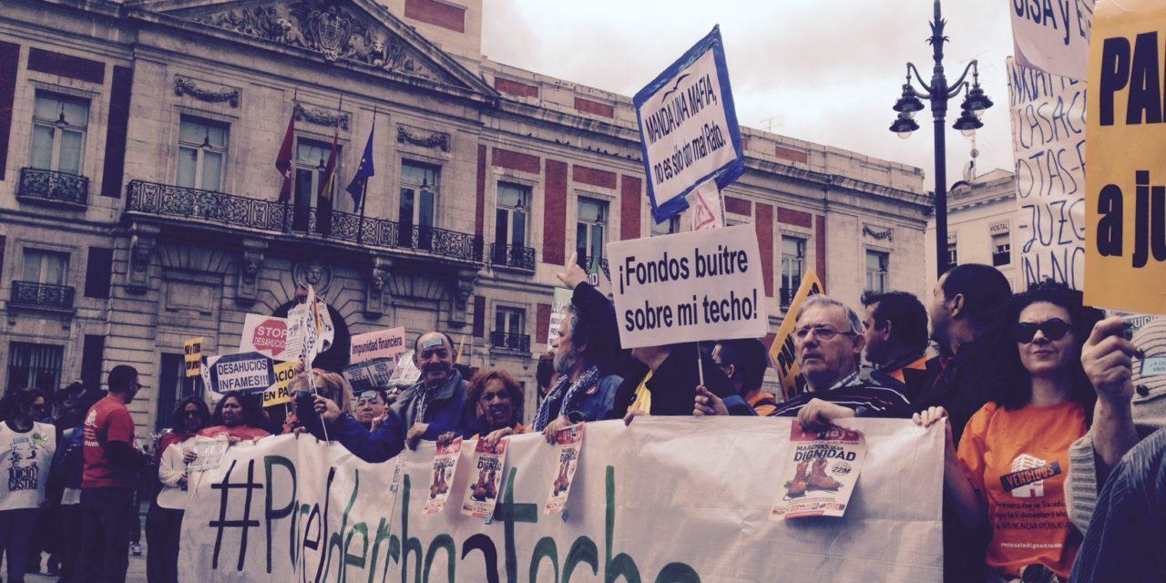 AVVI y la FRAVM piden la dimisión de Pablo Cavero por la venta de vivienda pública del IVIMA a fondos buitre