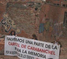 Acampada frente a la cárcel de Carabanchel para evitar la demolición de la cúpula