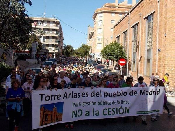 Admitido a trámite el contencioso-administrativo contra el Plan Especial de la Finca de Torre Arias