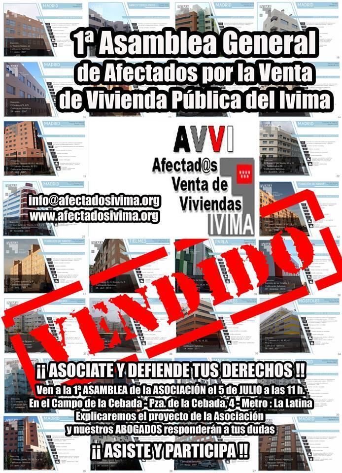 Afectados por la venta de viviendas del IVIMA se personan como acusación popular contra Ana Gomendio