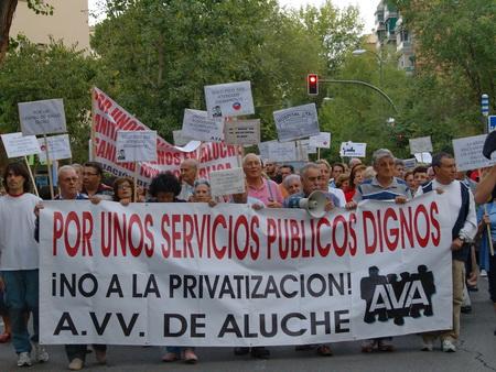Aluche exige la construcción del centro de salud prometido por el Gobierno regional
