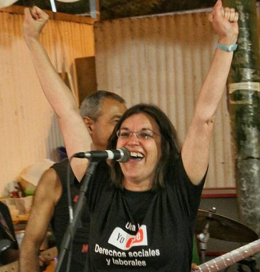 Aluche llora la muerte de Arantxa Alonso, todo un referente del movimiento vecinal