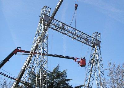 Aravaca, por fin libre de torres y cables de alta tensión