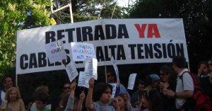 Aravaca reclama al Gobierno regional la retirada de las torres y cables de alta tensión abandonados