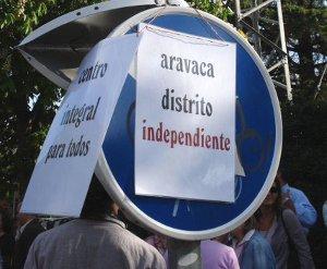 Aravaca reclama su independencia