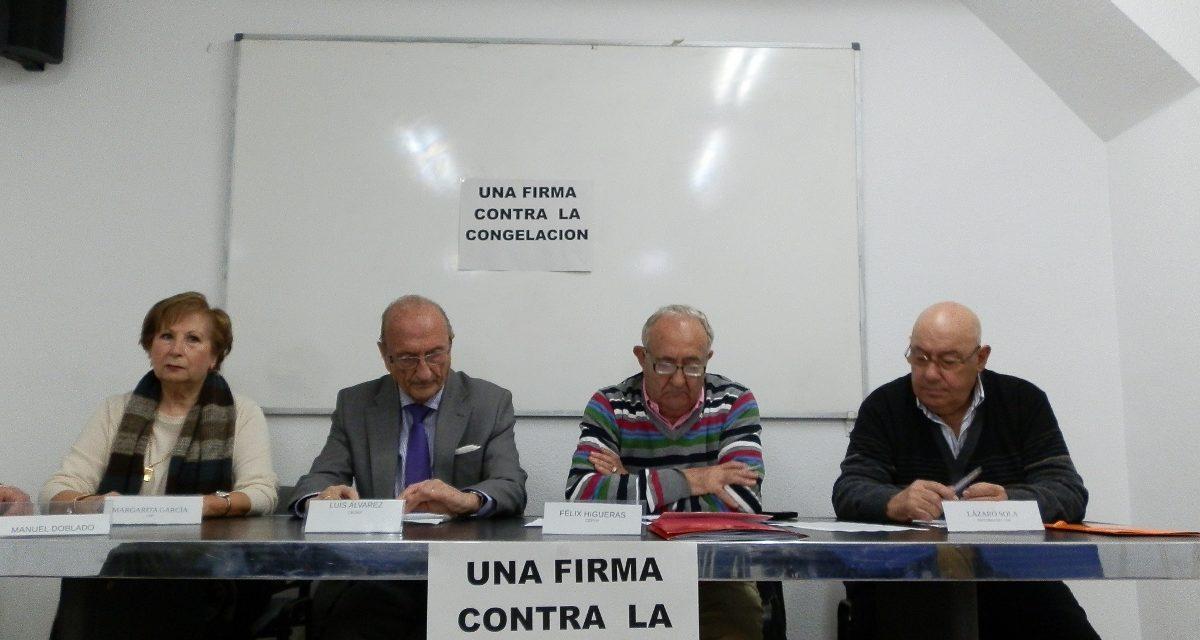 Asociaciones de mayores lanzan una Iniciativa Legislativa Popular contra la congelación de las pensiones en 2011