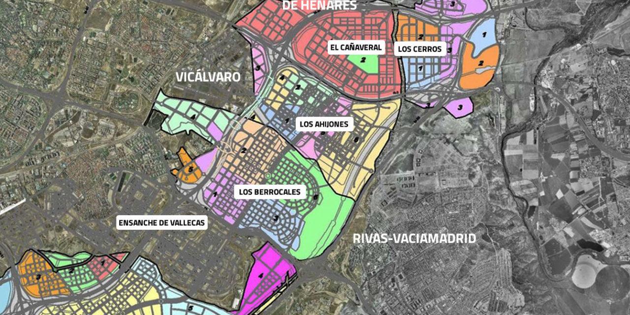 Asociaciones vecinales y ecologistas reclaman la revisión de los grandes desarrollos urbanísticos del sureste de Madrid