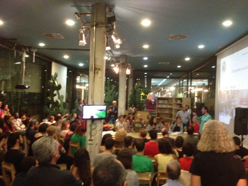 Asociaciones y colectivos de Arganzuela reivindican el uso del mercado de Legazpi