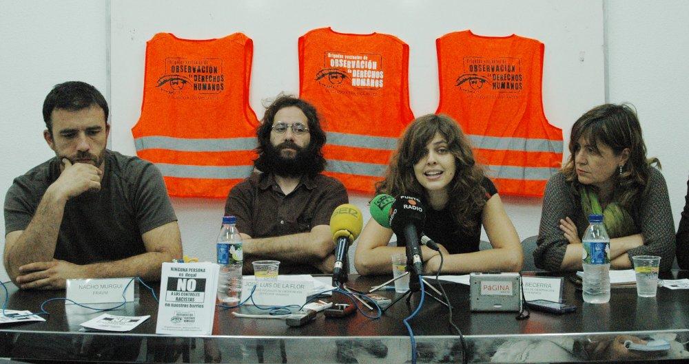 Brigadas Vecinales denuncia el acoso de Interior por documentar redadas policiales a migrantes