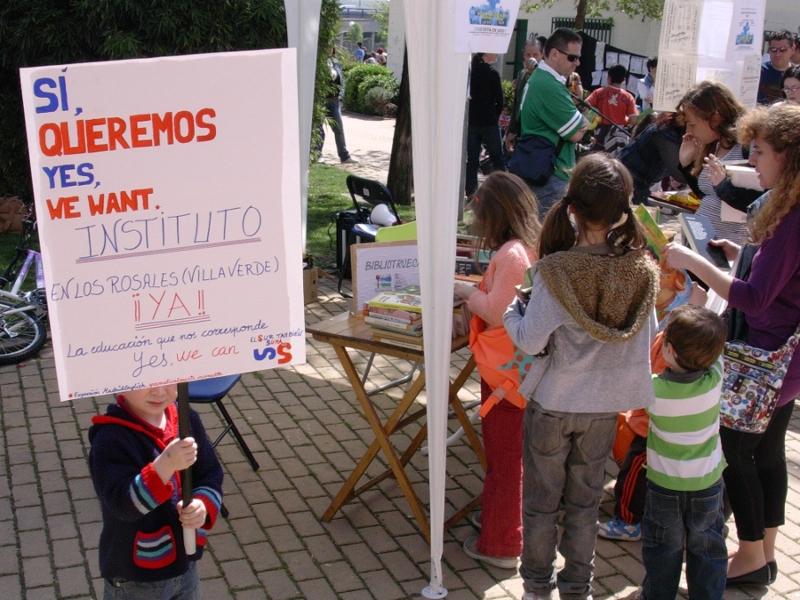 Butarque lleva a la Asamblea de Madrid sus reivindicaciones educativas