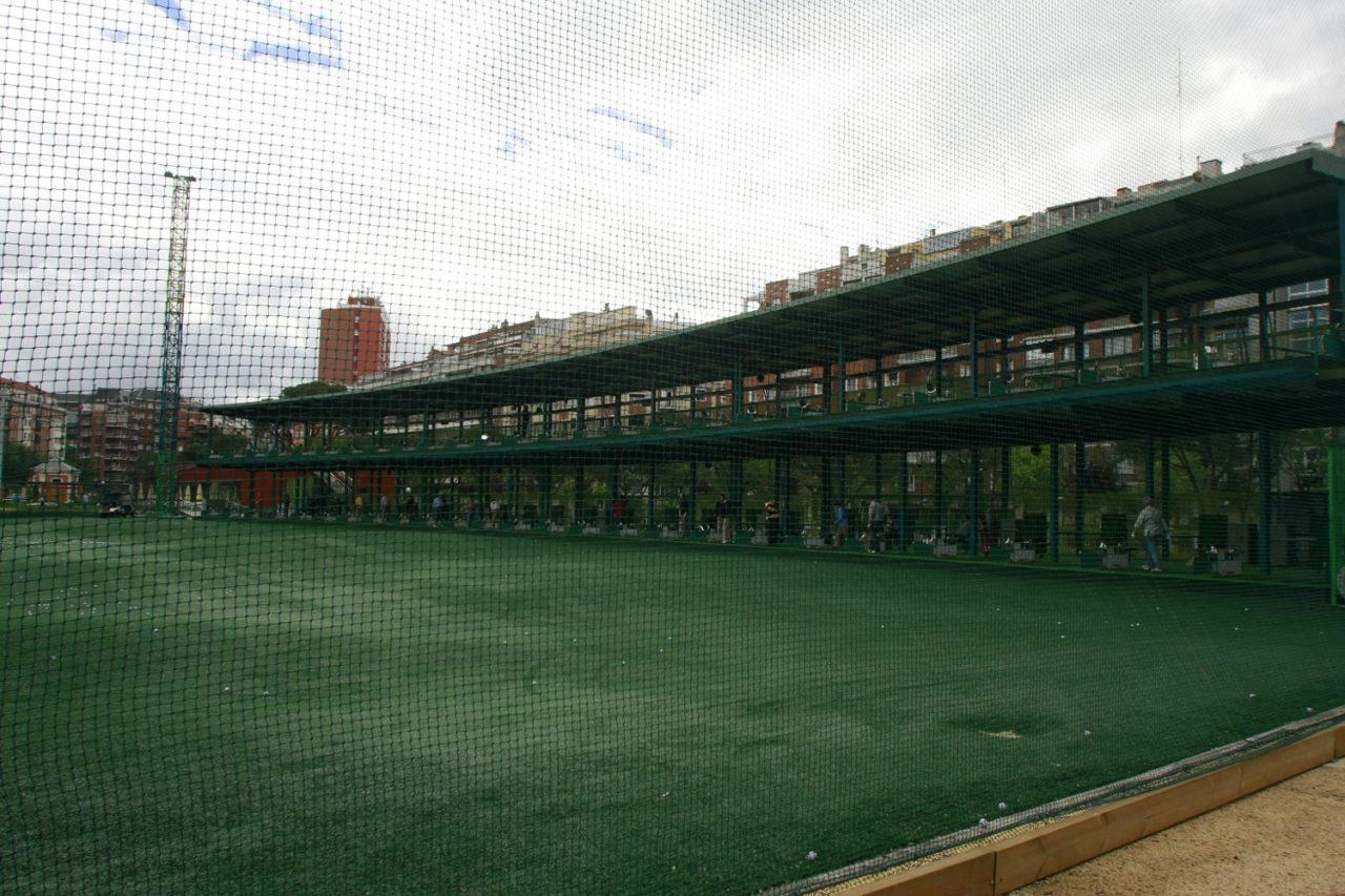 Chamberí exige la construcción de un parque público en los terrenos que ocupa el campo de golf declarado ilegal