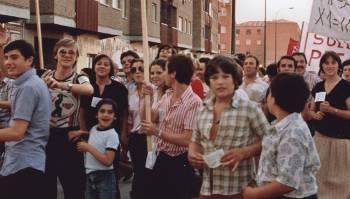 Cuatro décadas de luchas vecinales, en Villa de Vallecas