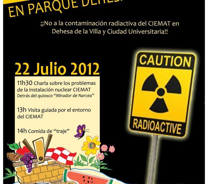 Domingo 22 de julio: picnic radiactivo en la Dehesa de la Villa