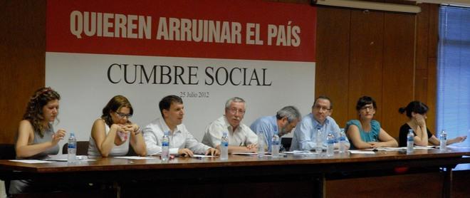 """El 15 de septiembre, Madrid acogerá un multitudinaria """"marea ciudadana"""" contra los recortes"""