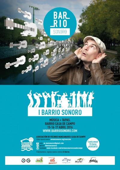 El 15A se inaugura el primer Barrio Sonoro de Madrid