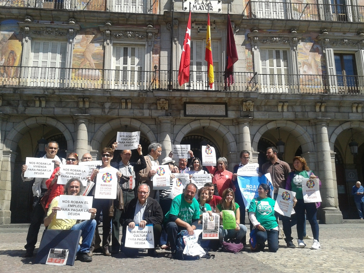 El 7 de junio los barrios y pueblos de Madrid saldrán a la calle en defensa de su futuro