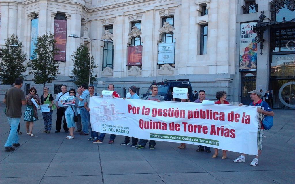 El Ayuntamiento de Madrid abre la veda a la privatización parcial de la finca de Torre Arias