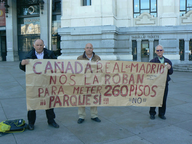 El Ayuntamiento de Madrid rechaza la subasta de los terrenos de la Cañada Real en Colonia Jardín