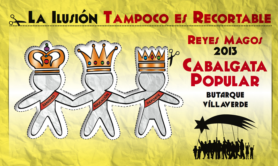 El Ayuntamiento vuelve a denegar el permiso de la Cabalgata Popular de Villaverde