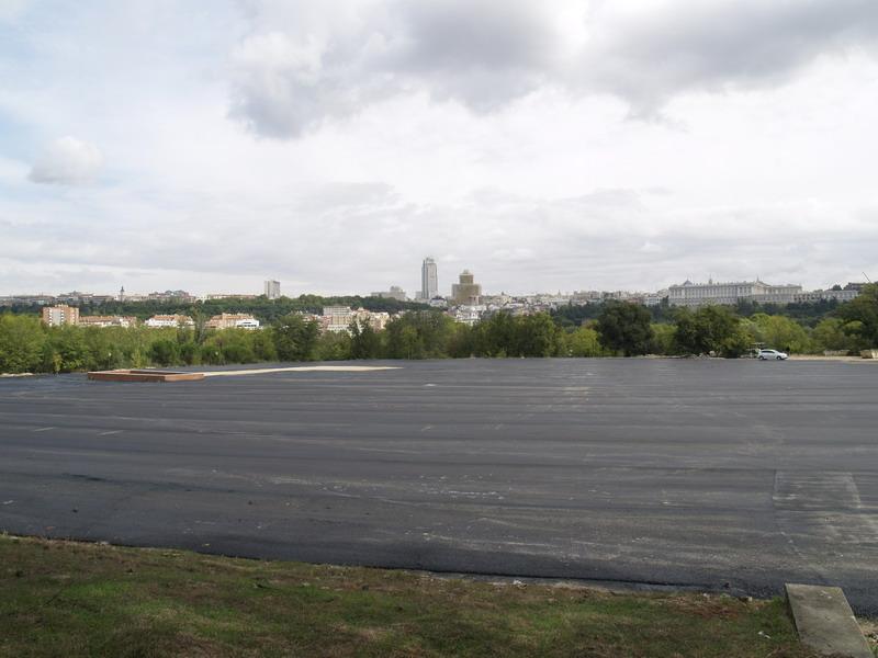 """El Circo del Sol """"se come"""" más de 10.000 metros cuadrados de la Casa de Campo"""
