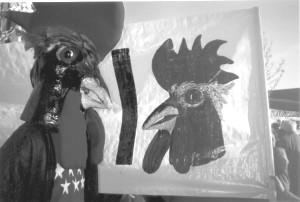 El Gallo vallecano perseguirá a Esperanza Aguirre por morosa