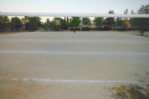 El Racing de Villaverde estrena el campo de fútbol construido por los vecinos de Butarque