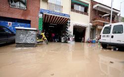 El barrio de Santiago de Coslada sufre la tercera inundación en un mes