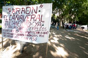 """El domingo 12, nueva manifestación de los """"acampados del Sureste"""""""