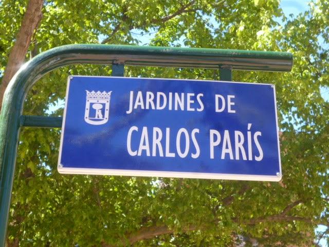 El filósofo Carlos París da nombre a unos jardines de Tetuán