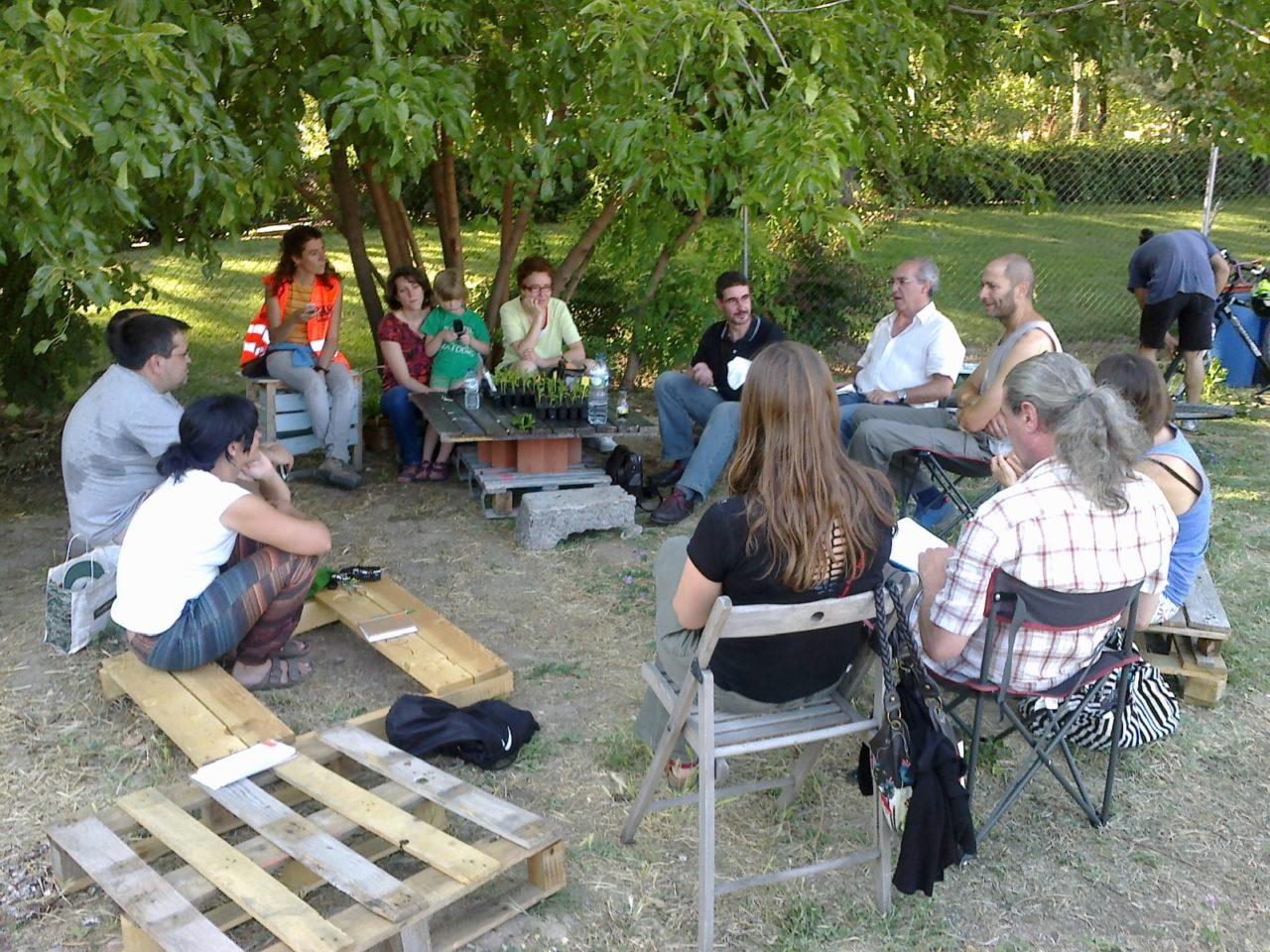 El movimiento ciudadano logra la regularización de 12 huertos urbanos comunitarios de Madrid
